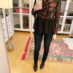 Paige dark denim jeans. Skyline Skinny.